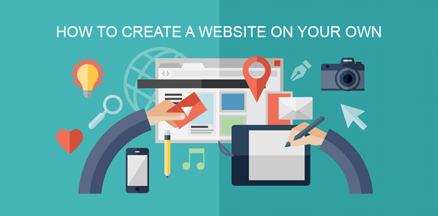 How to Create a Website on Your Own Banner