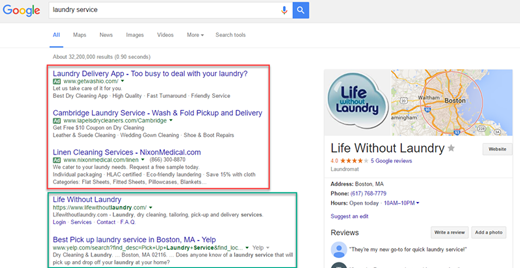 google advertising service